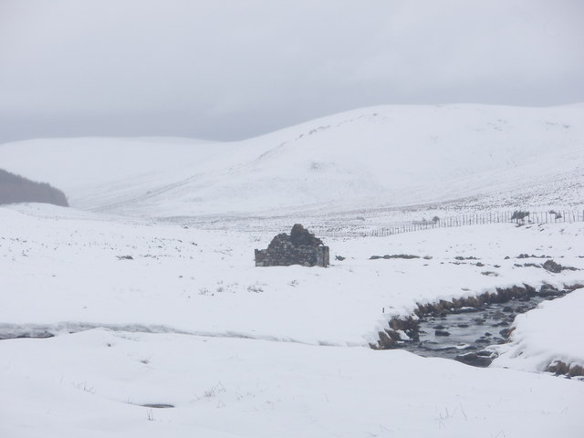 Kilbo, at the head of Glen Prosen