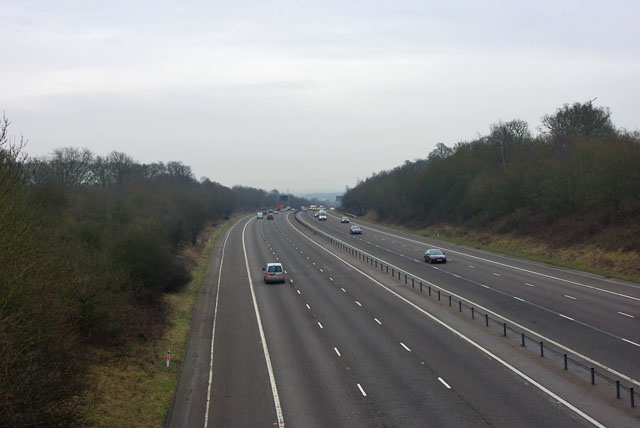 M23 looking south