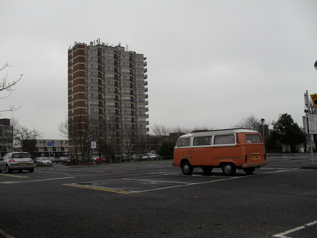Splendid camper van in Hothamton Car Park