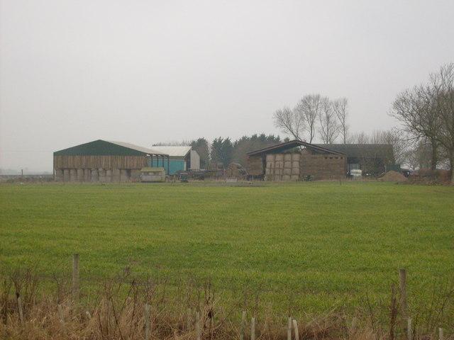 Fields towards Top Farm