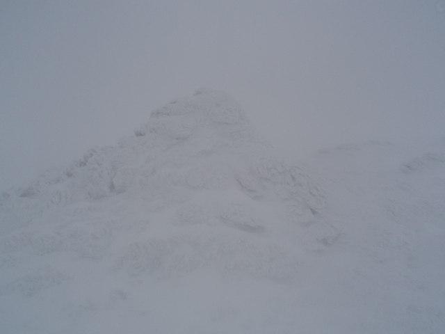 Summit cairn, Mayar
