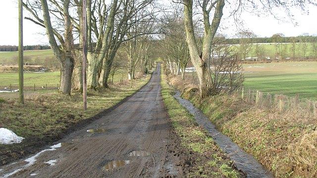 Road to Bonkyl Church