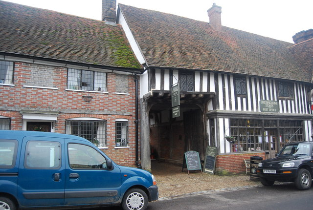 Burgesh Court Tearooms, Chiddingstone