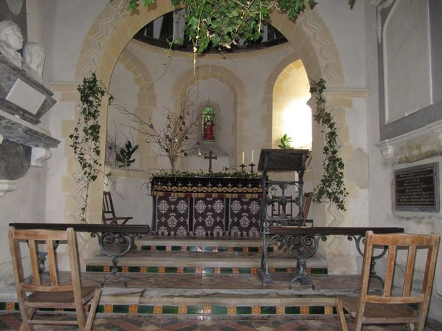 Looking at the Chancel