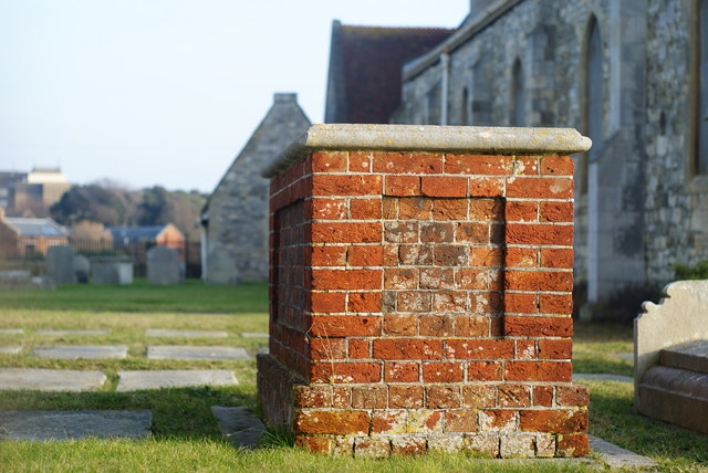 Gravestones at the Garrison Church, Portsmouth