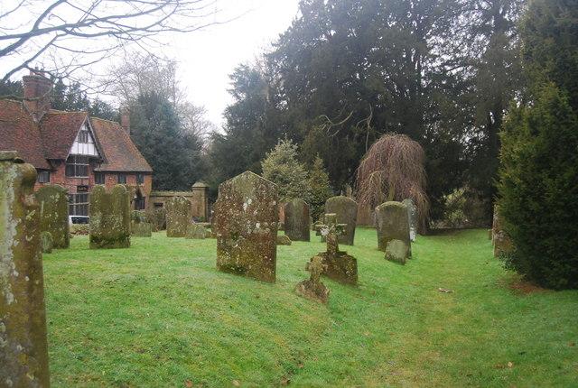 Gravestones, St Mary's Church, Chiddingstone