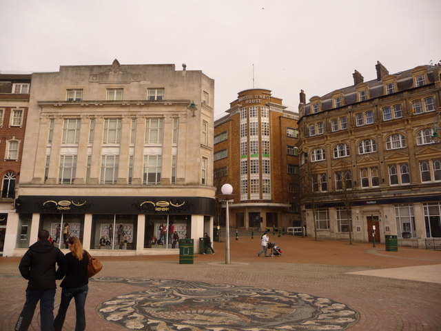 Bournemouth: Richmond Hill emerges into The Square