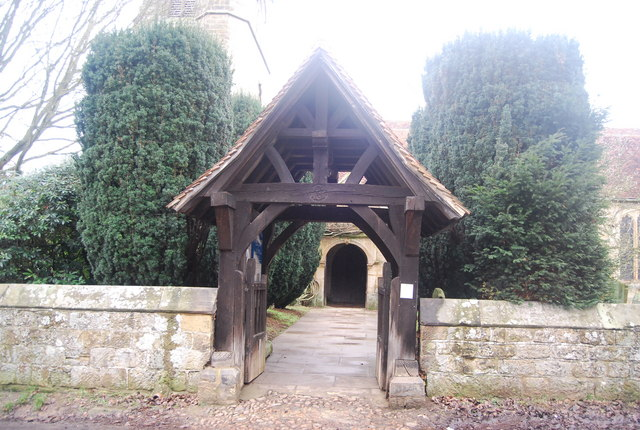 Lych Gate, St Mary's Church, Chiddingstone