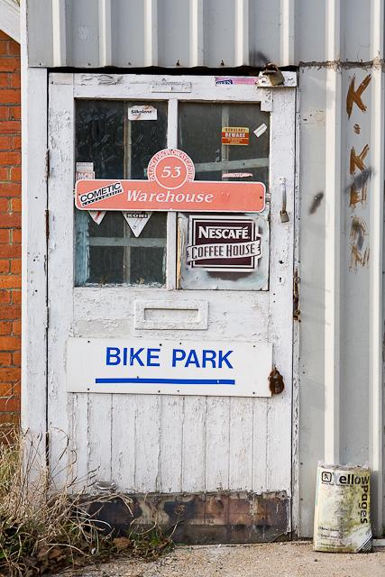 Door beside number 8 Hewitt's Road