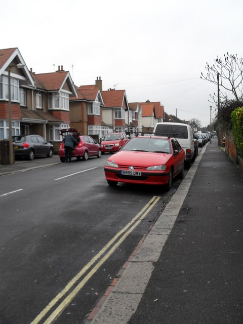 A dull January day in Cavendish Road