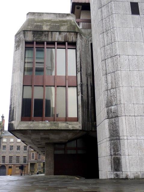 Former Bank of England, Pilgrim Street (detail)