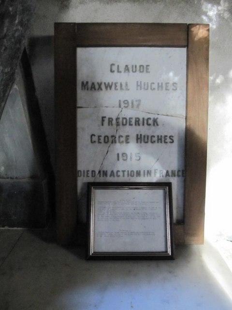Memorial in the frame