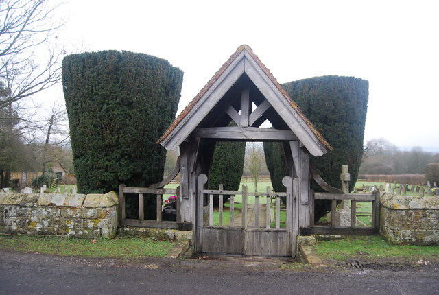 Lych Gate, Cemetery, Chiddingstone