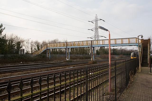 Railway footbridge number BML2 E2/7