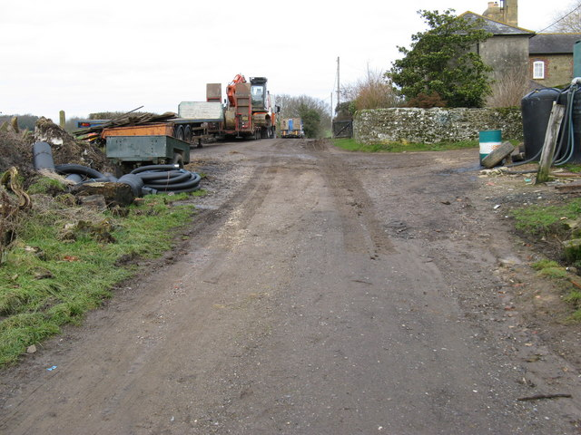 Lorries at Hortons Farm Northchapel