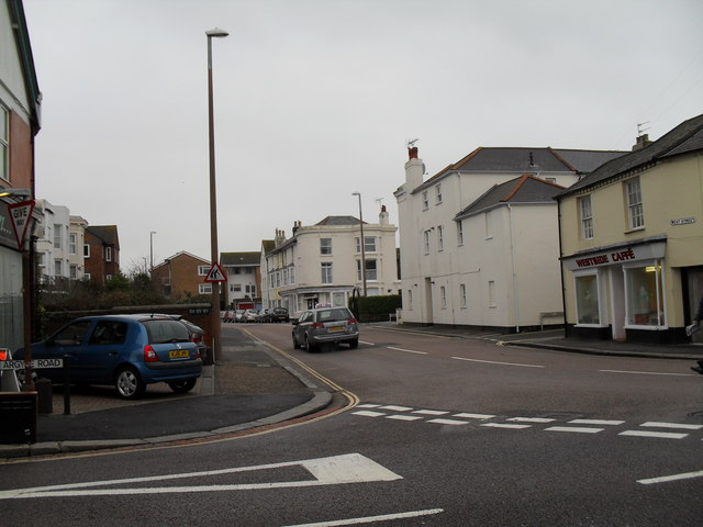 Looking from Argyle Road into West Street