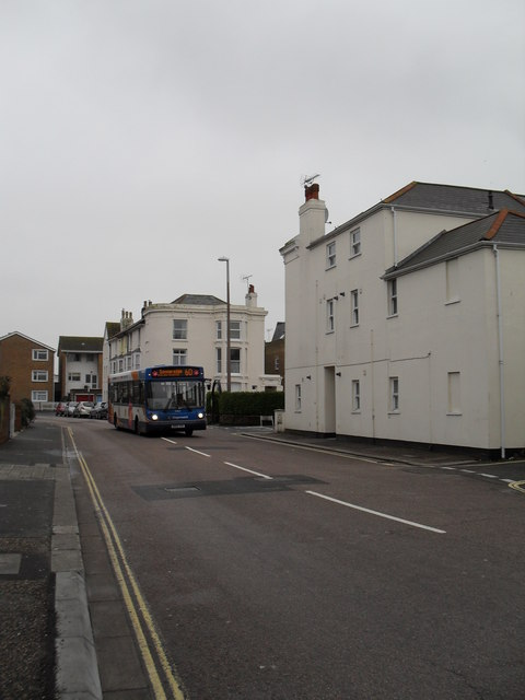 60 bus in West Street