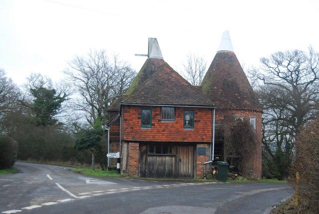 Triangle Oast house, Chiddingstone