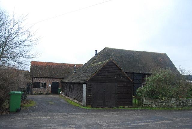 Farm buildings, Larkin's Farm