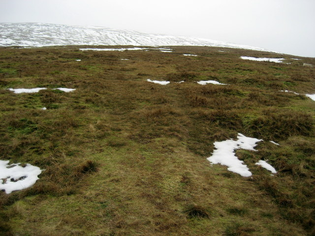 Lower Slopes of Fountains Fell
