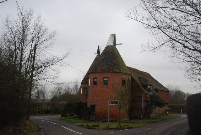 Triangle Oast house, Chiddingstone
