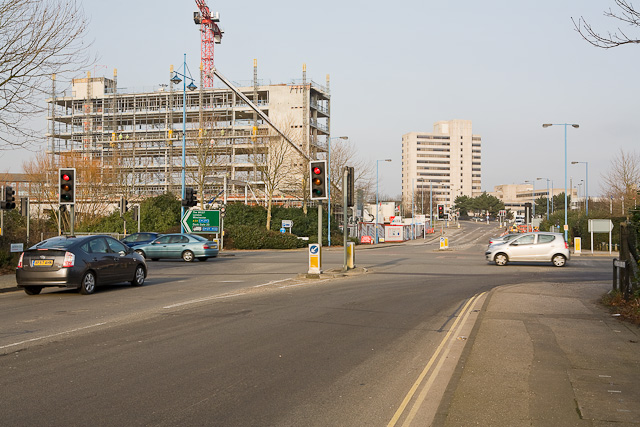 Junction of Southern Road and West Quay road