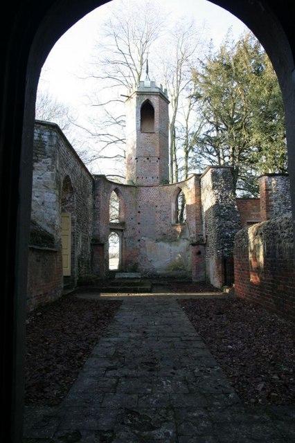 Tower through the door