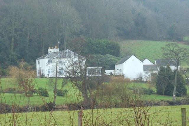 House beside  Afon Dyfrdwy