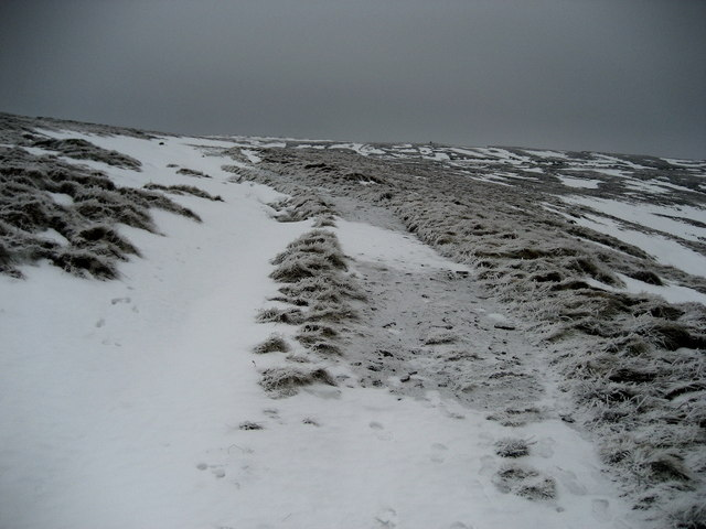 Winter Ascent of Fountains Fell