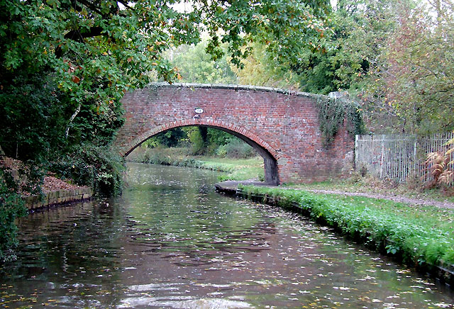 Trent and Mersey Canal near Rugeley, Staffordshire