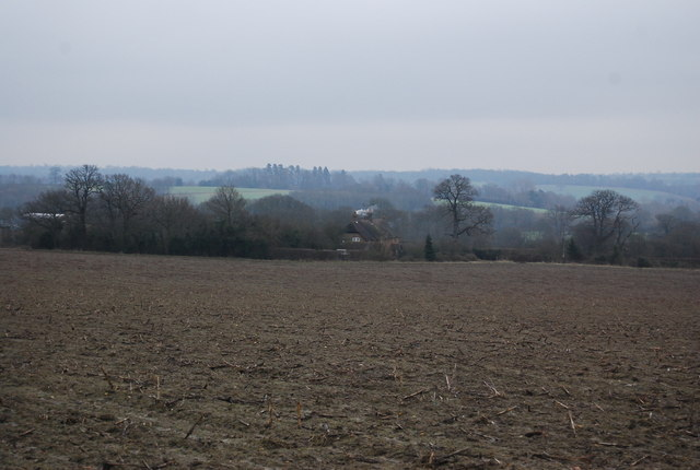 Looking towards Chantler's Cottages