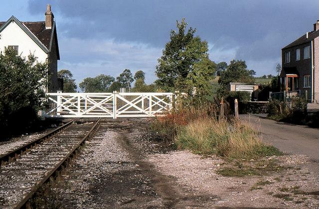 Level crossing, Appleby