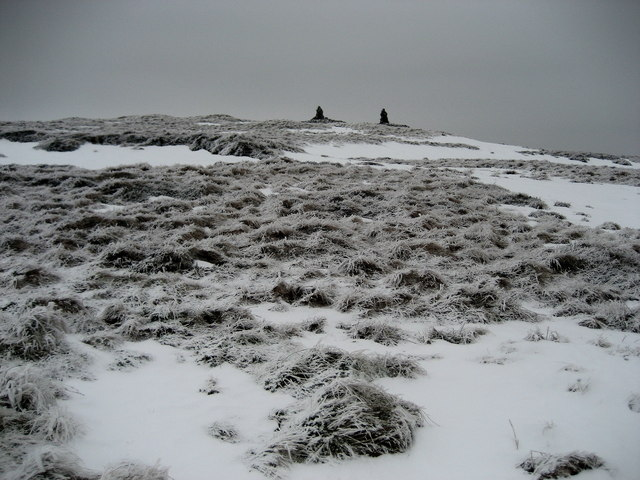 Winter on Fountains Fell