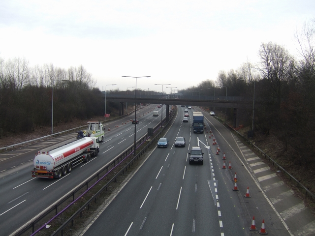 M6 South of Bognop Road