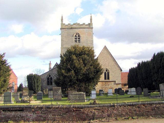 All Saints Church, Coddington