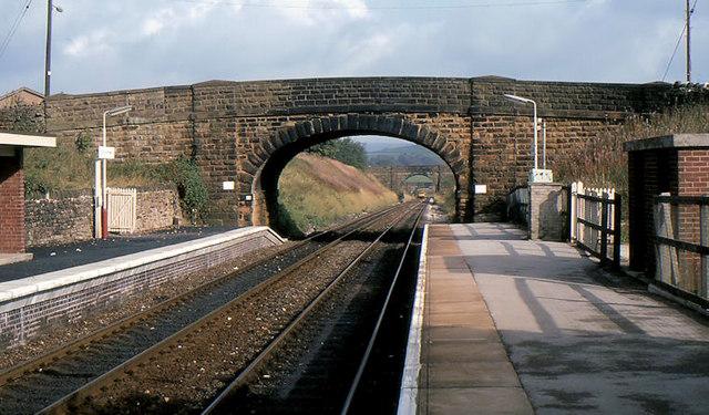 Doveholes station