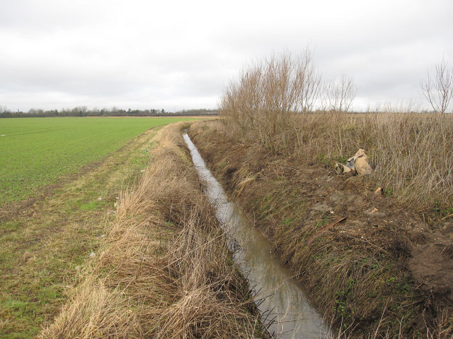Footpath along the ditch