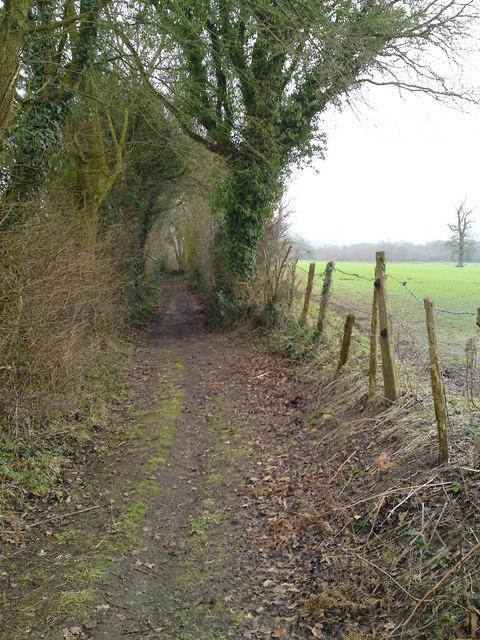 Footpath down to Wanstead farm