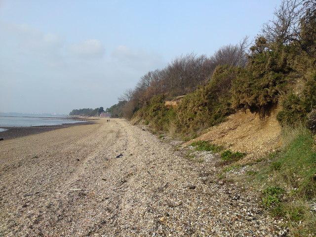 Southampton Water Eastern Shoreline at Netley