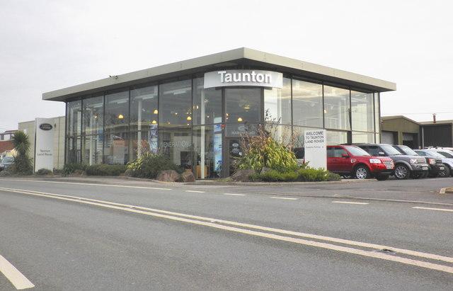 Land Rover showrooms, Taunton