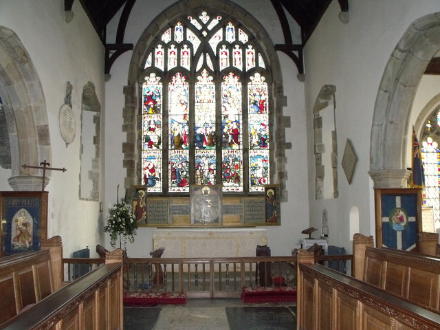Interior of St. Mary's, Ticehurst, East Sussex