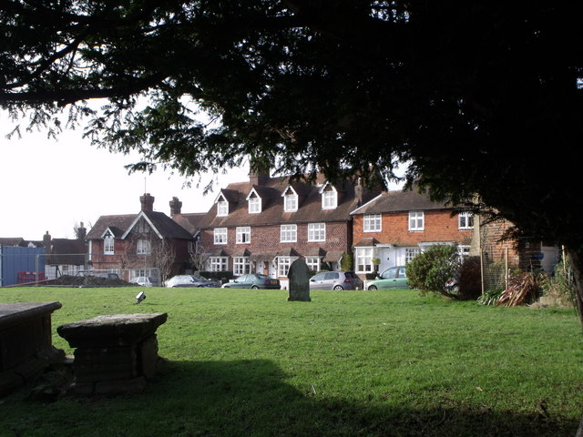 Houses in Church Street, Ticehurst, East Sussex