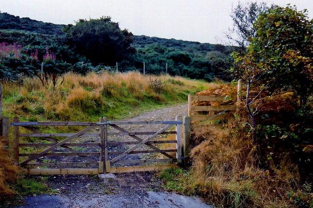 Douglas - Marine Drive - Entrance gate to field
