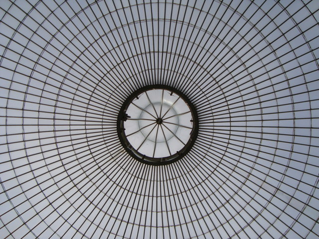 Dome and cupola, Kibble Palace, Glasgow Botanic Garden