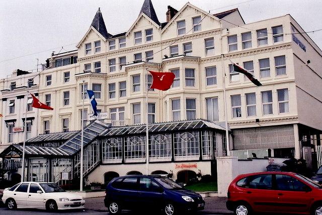 Douglas - Central Promenade - The Empress Hotel