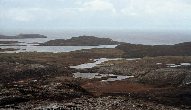 A Winter Day on the Slopes of Grianan: Isle of Barra