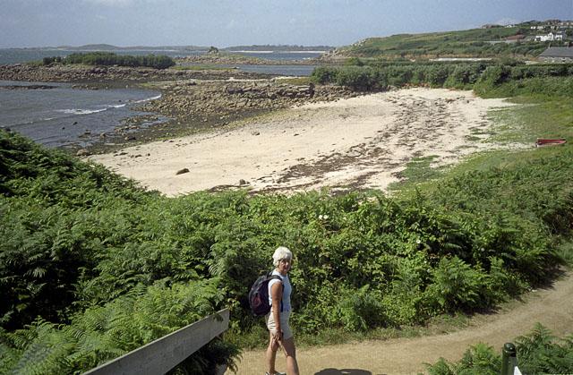Coastal Path and Thomas' Porth