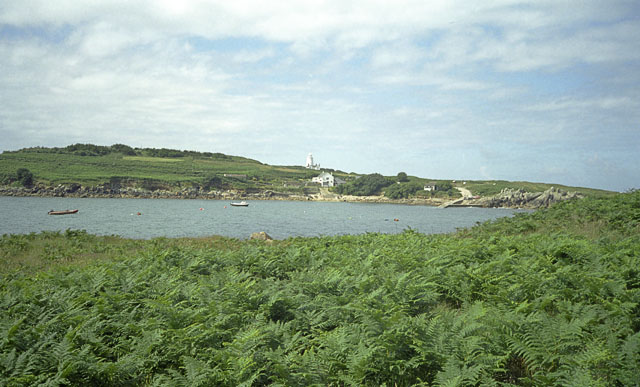 St Agnes, Scilly from the Gugh