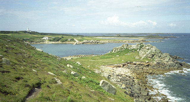 North coast of St Agnes from The Gugh