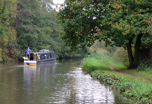 Trent and Mersey Canal near Brereton, Staffordshire
